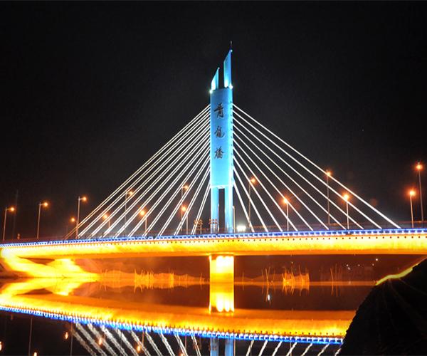 肥西青龙桥照明亮化工程