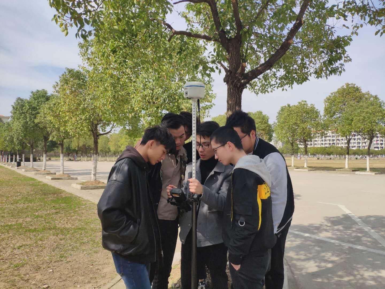 合肥某职业院校天宇GPS培训现场