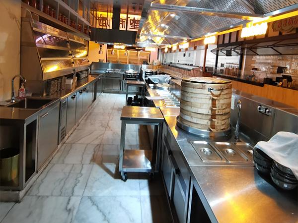 一樓食集廚房一角