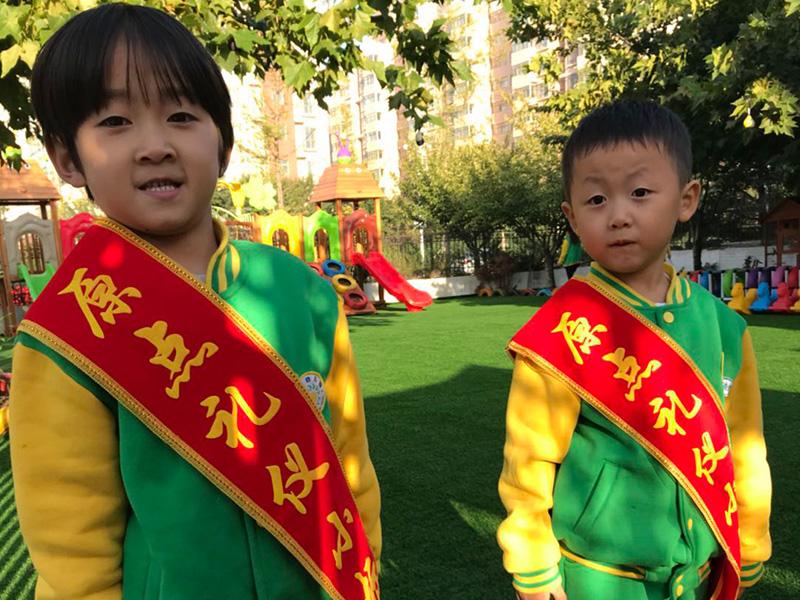 安丘規範幼兒園團隊活動