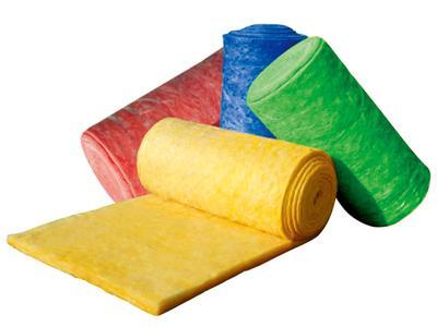 彩色离心玻璃棉板卷毡
