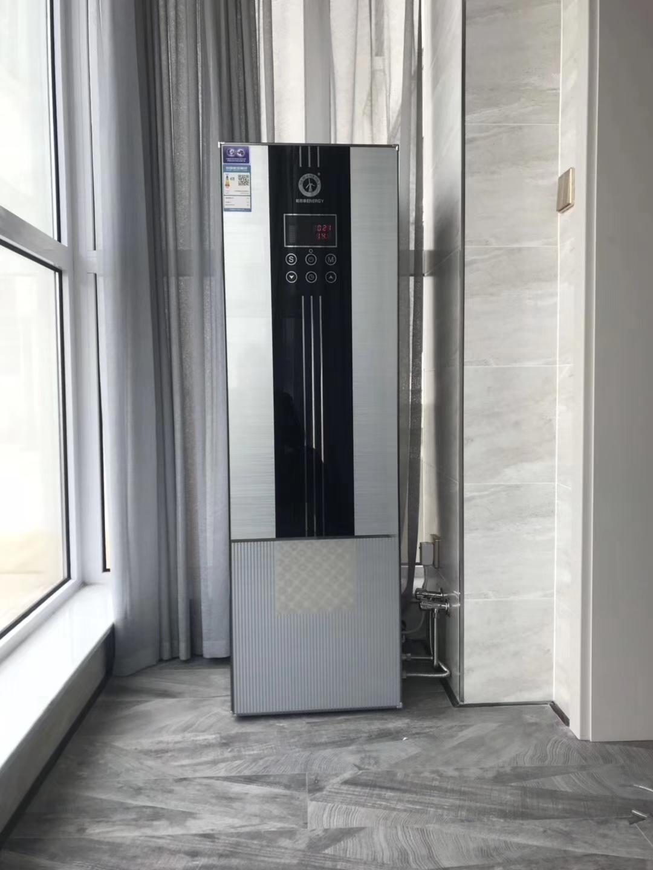 家用空气能热水安装案例