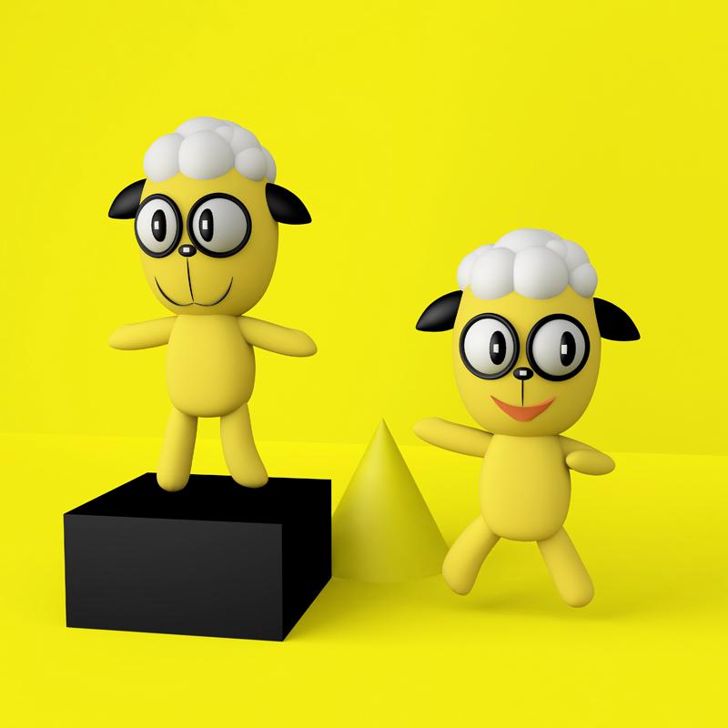 劉小陽鮮羊奶品牌策劃,LOGO,卡通,吉祥物,海報,包裝
