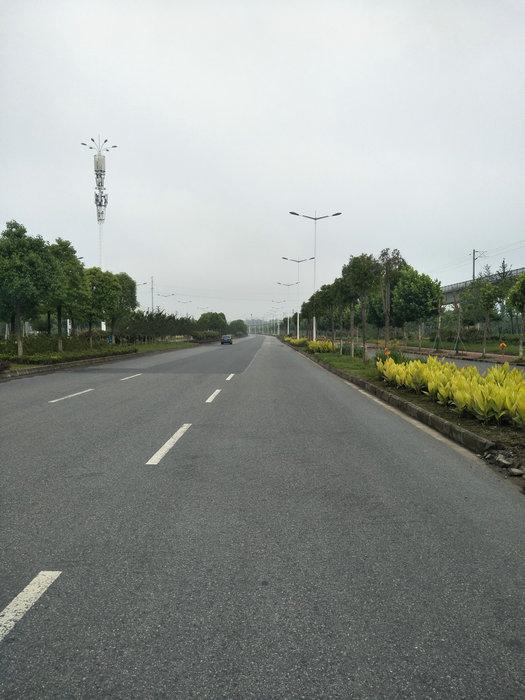 高新东路路面修补