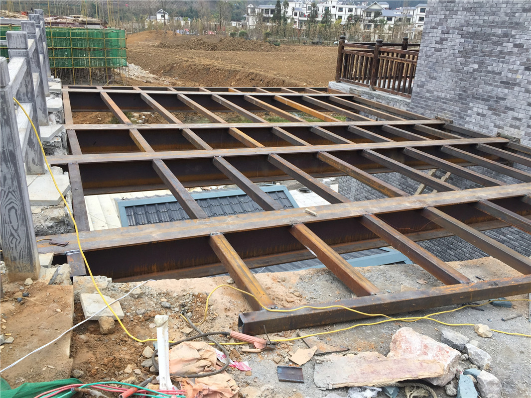 钢结构休闲平台