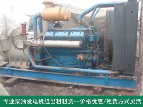 合肥柴油发电机租赁