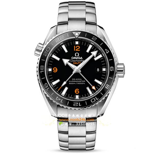 【KW厂】欧米茄海马系列232.30.44.22.01.002男士GMT机械腕表