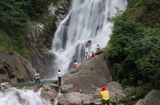 旺溪瀑布风景区