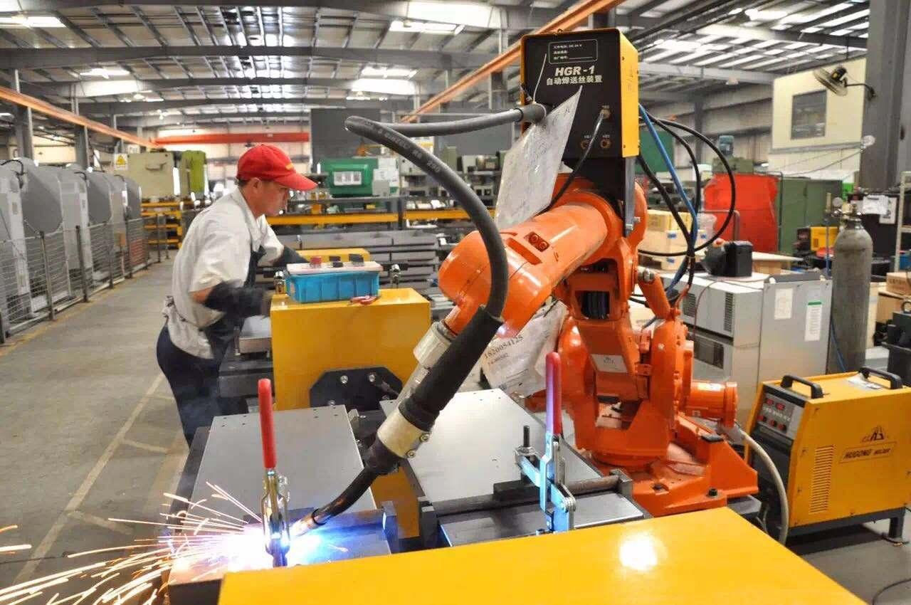 焊接机器人调试