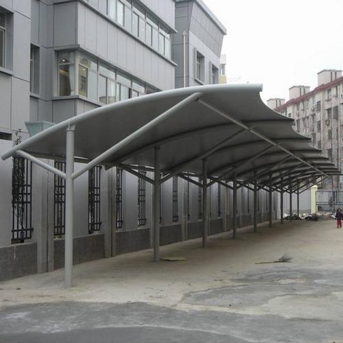 膜結構汽車棚案例展示
