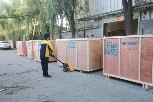 木箱包装发货