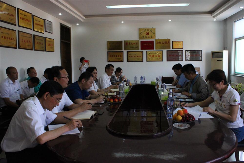 山東省混凝土行業示範企業專家組莅臨指導工作