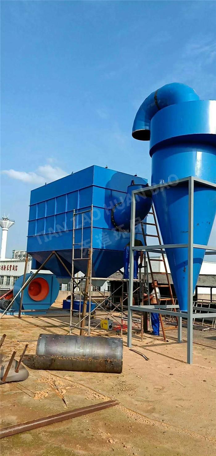 废气处理净化设备厂家:采石场除尘设备-袋式除尘器
