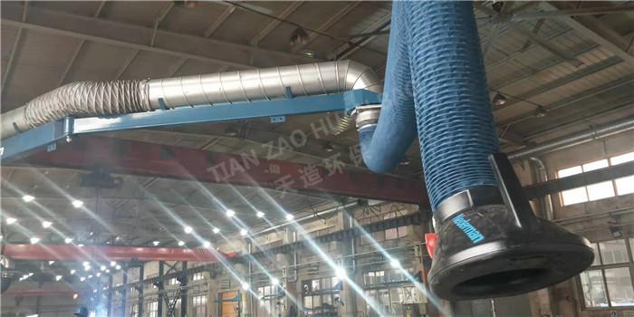 除尘设备工业:塑烧板除尘器除尘特点