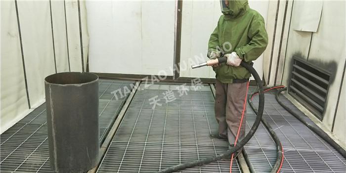 解析喷砂机除锈方法和标准喷砂机的几种回砂方式