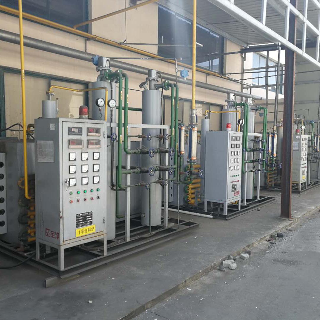 粉末冶金專用氨分解爐