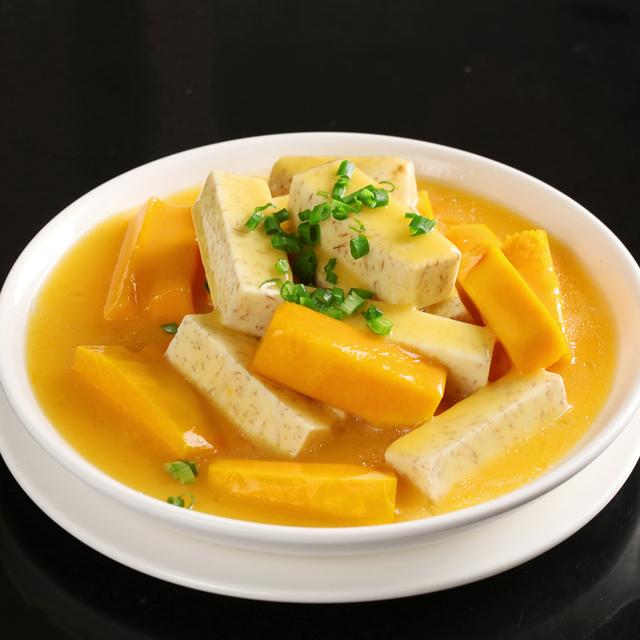香芋炆南瓜