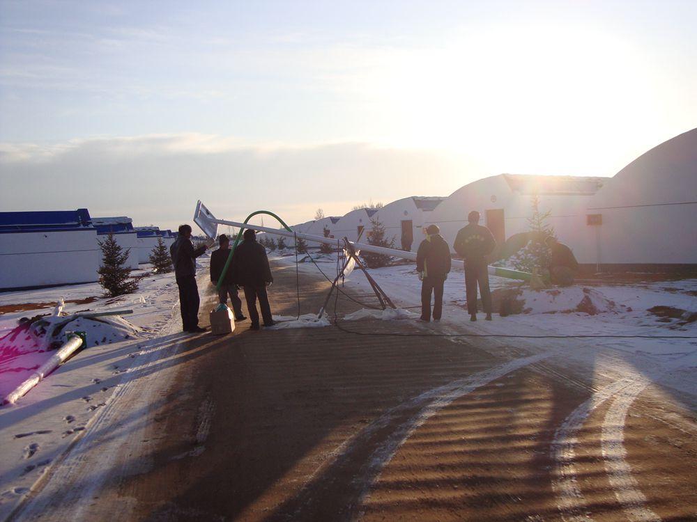 内蒙古赤峰太阳能路灯安装