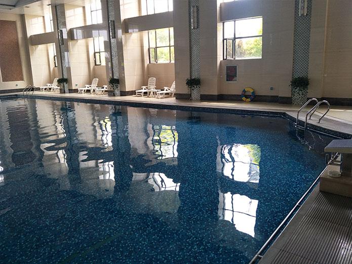 山西长治鼎尚健身会所游泳池项目