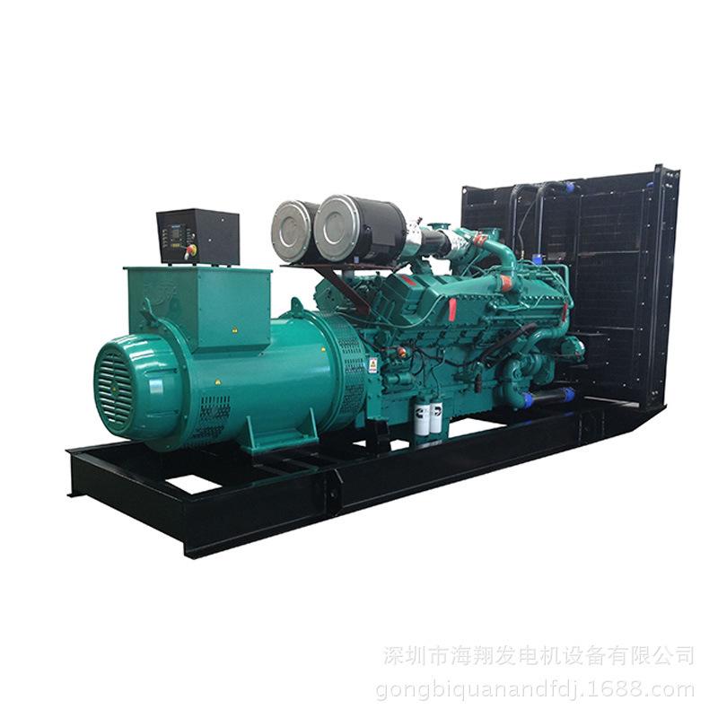 出售柴油发电机组400kw 康明斯400kw柴油发电机 纯铜永磁发电机