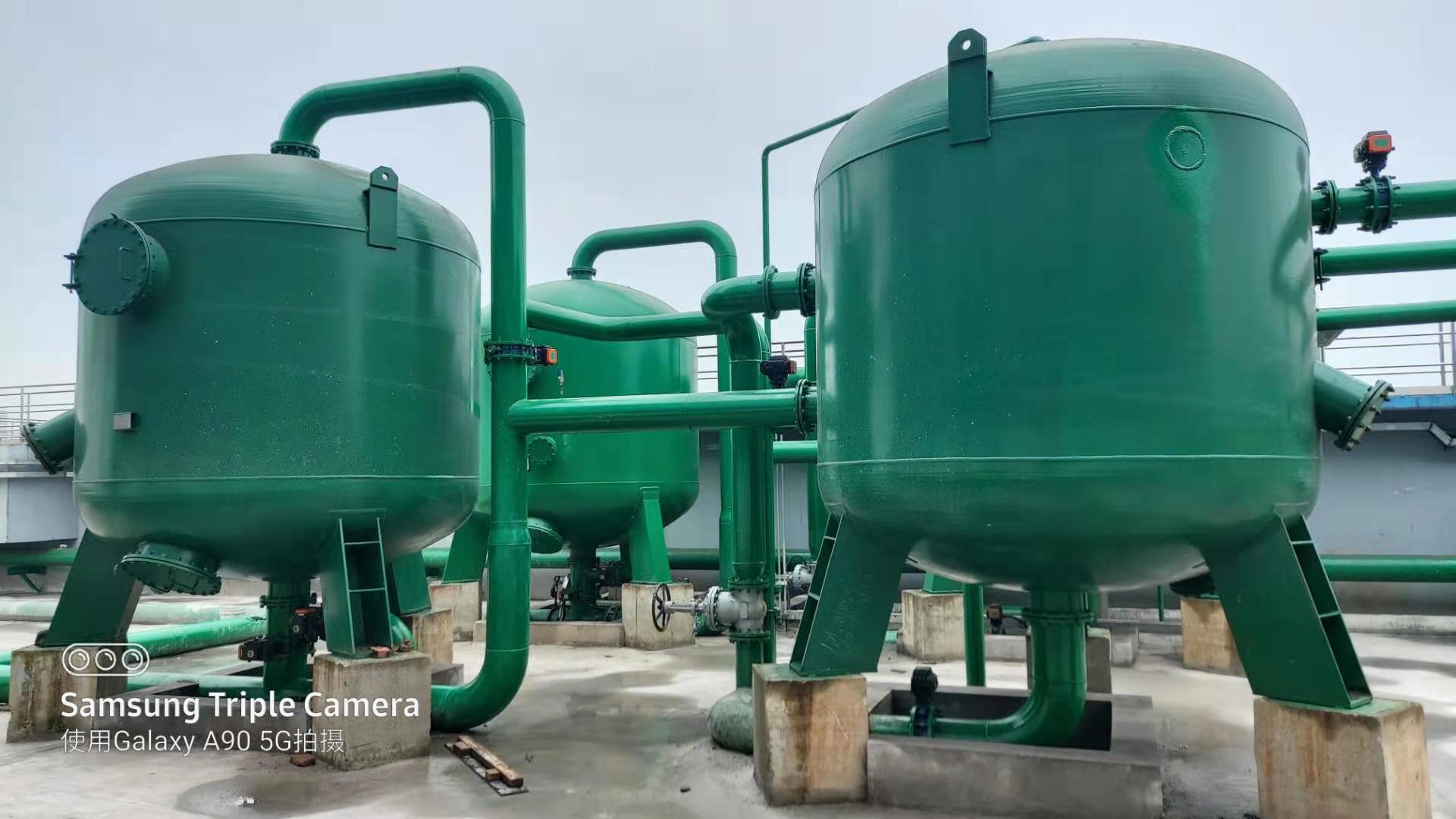 沂州科技有限公司雨水过滤系统处理