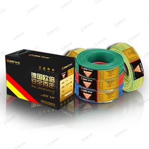 欧倍强电线每种型号有红、黄、蓝三种色