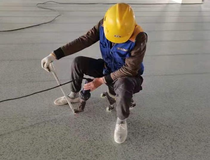 施工步骤 9.焊接