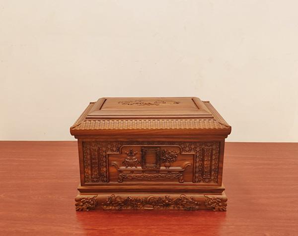 花梨木寿盒