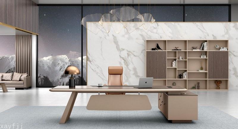 現代家具系列|整體辦公桌柜系列辦公家具設計制作