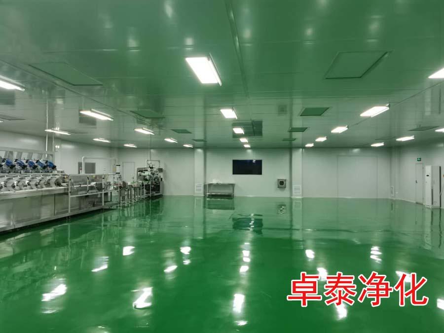 河北晋州央品十万级净化车间设计建设完成